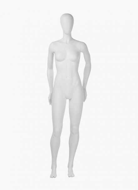 """Maniquí mujer sport """"lifestyle: tonificada B"""", gris RAL 7044"""